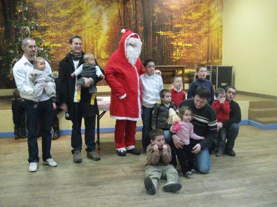 Fred et Charly ont enfin rencontré le père Noël